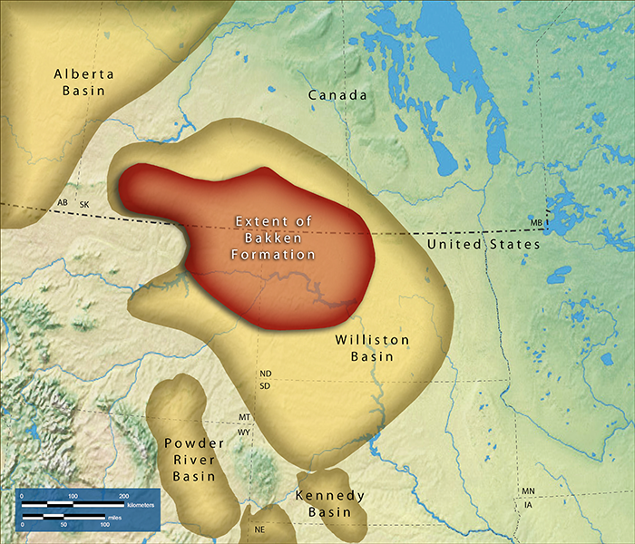 US Williston Basin Oil Production